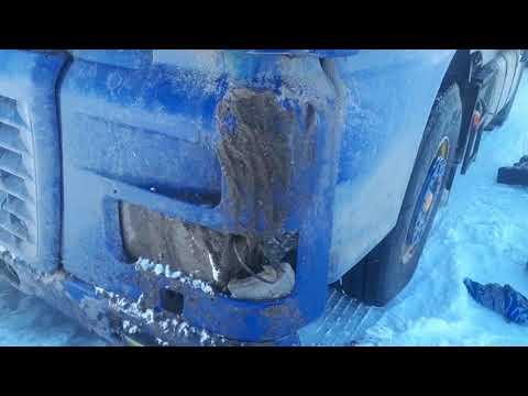 Зима для Казахстанского дальнобойщика рай или как пробиться в буран на сломанной машине.