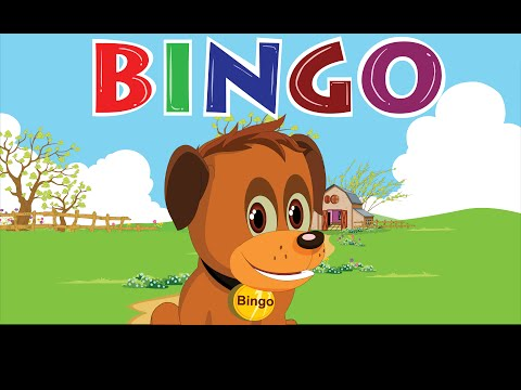 Bingo Dog   Nursery Rhyme With s  Cartoon Animation for Children