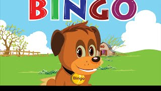 Bingo Dog Song Nursery Rhyme With Lyrics  Cartoon Animation For Children