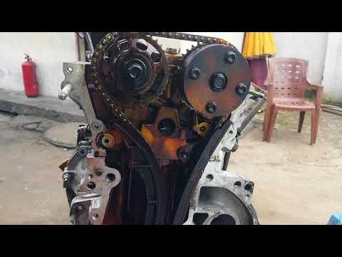1zz engine timing mark - YouTube