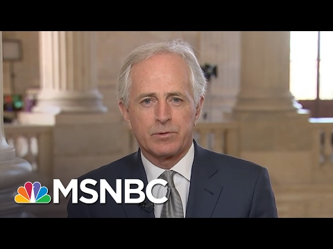 Bob Corker: I Strongly Applaud How US Is Responding To Iran | Morning Joe | MSNBC