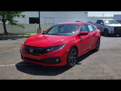 2019 Honda Civic Sedan Muskogee, Pryor, Broken Arrow, Tulsa, Fort Gibson, OK H1473