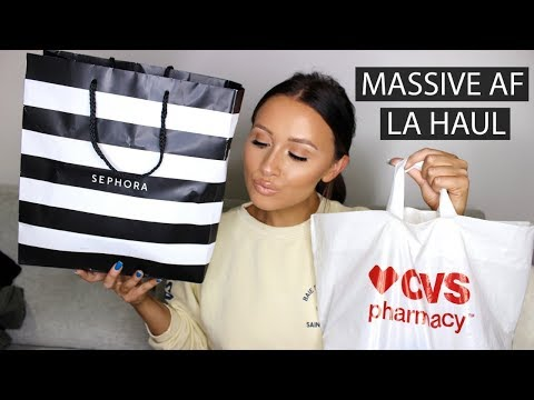 MASSIVE AF LA HAUL | Things You Need To Buy In The USA