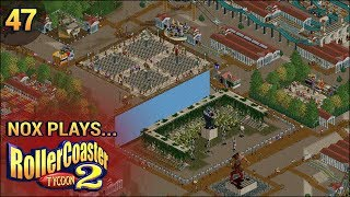 Nox Plays... Rollercoaster Tycoon 2: Time Twister | #47: Mythological - Animatronic Film Set, Pt. 1