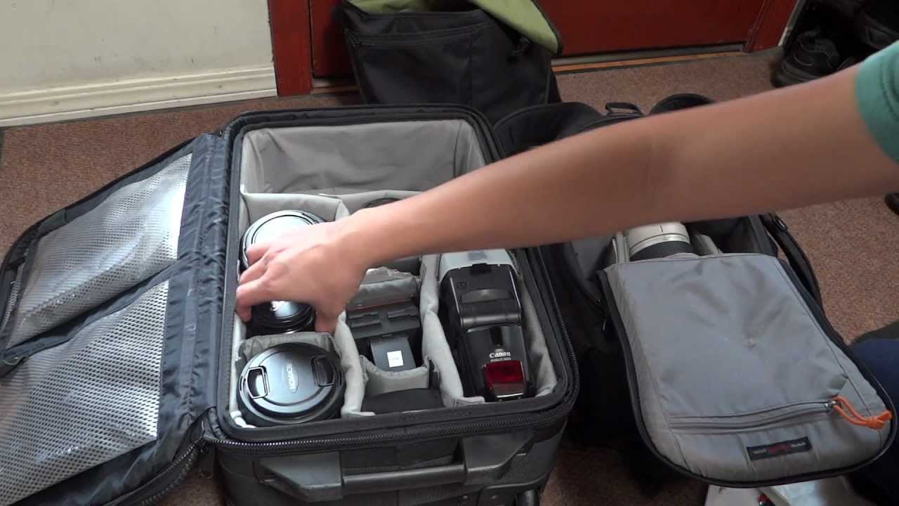 Whats In My Camera Bag 10 15 2012 Part 2 Lowepro Exchange Flipside 300 Youtube