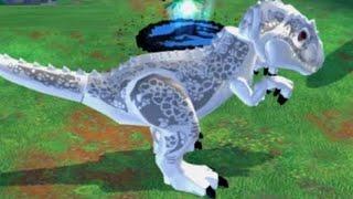 LEGO Jurassic World (PS Vita) - All Large Dinosaurs Unlocked + Gameplay (Large Dinosaur Paddock)