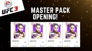 EA SPORTS UFC 3 - MASTER PACK OPENING