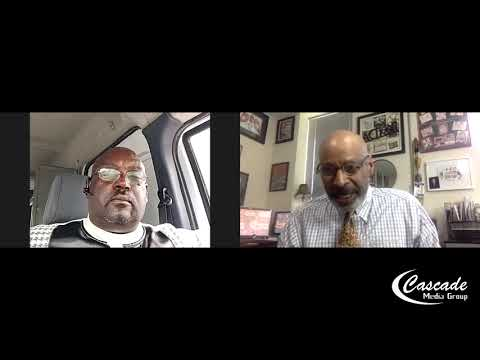 Interview with Bishop Tony Colwell we're talking about the Palestinian Israeli issue