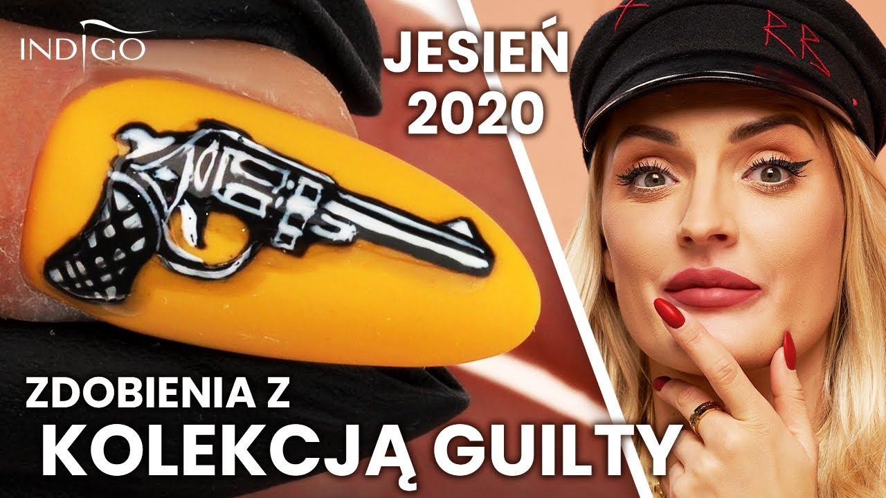 Zdobienia paznokci z kolekcją Guilty! 3 pomysły na idealne paznokcie na jesień 2020   Indigo Nails