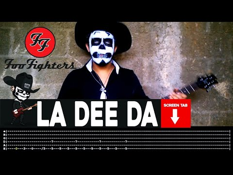 Foo Fighters - La Dee Da (Guitar Cover by Masuka W/Tab)