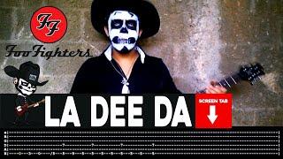 Foo Fighters La Dee Da Guitar Cover By Masuka W Tab