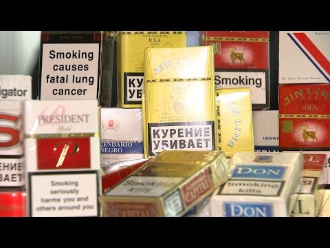 The growing trade in illicit tobacco
