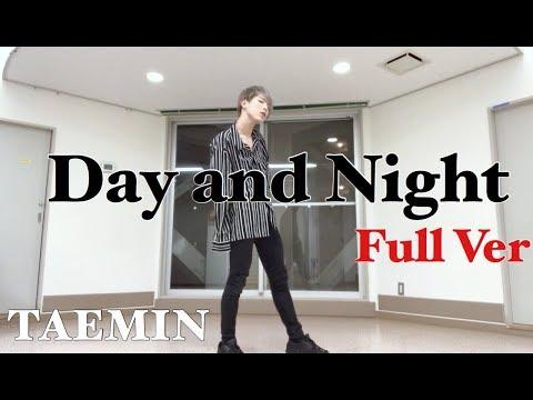 TAEMIN 태민 '낮과 밤 (Day And Night)' FULL Dance Cover