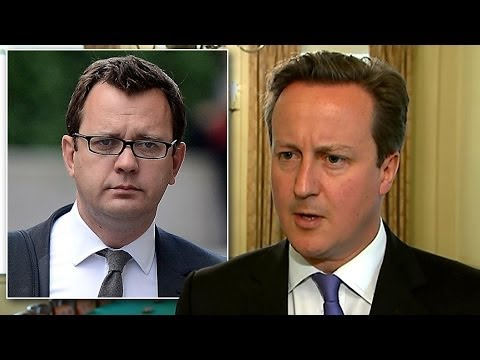 David Cameron Apologises For Hiring Andy Coulson