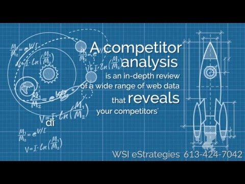 Competitor analysis - Your roadmap for online success in Ottawa, Toronto, Montreal, Calgary & Canada