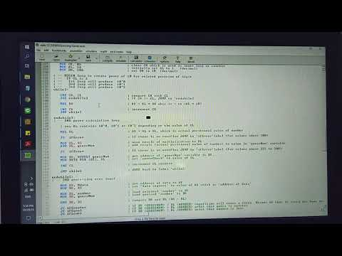 Guessing Game Using Assembly Language |