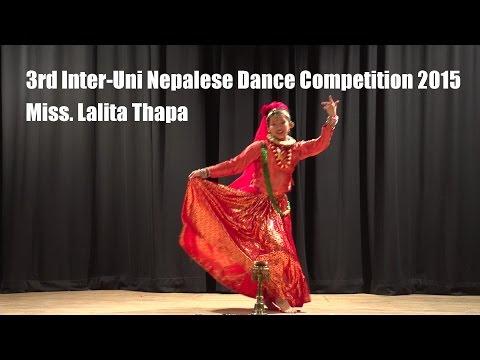 Gairi Khet Ko Sirai Hanyo (3rd Inter-Uni Nepalese Dance Competition 2015)