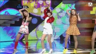 120614 Wonder Girls - Like this  M countdown COMEBACK