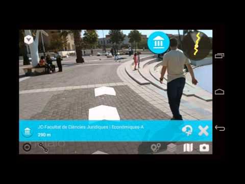 Smart UJI: Aumented Reality Navigation Prototype
