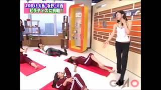 2007年11月6日 大島麻衣、板野友美、河西智美.