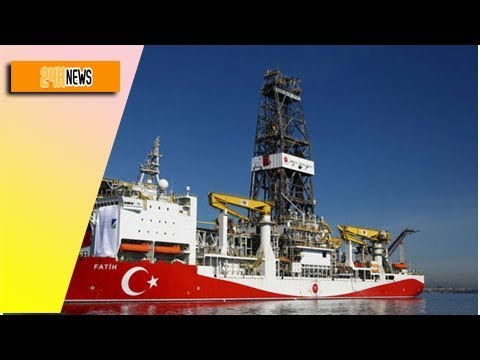 News 24h - MEDITERRANEAN TENSION: Turkey sparks Cyprus and Greece FURY with oil drilling project