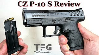 NEW CZ P-10 S - Sub-compact 9mm CCW Gun - TheFireArmGuy