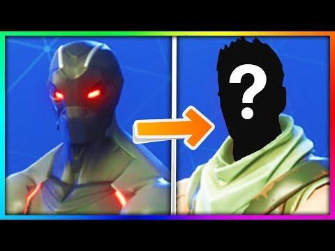 10 Fortnite Masked Skins Face Reveals.. (ʘ_ʘ)