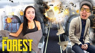 OUR PLANE CRASHED!! (The Forest)