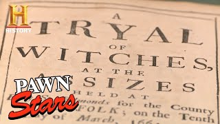 Pawn Stars: Rare Witch Trial Records Bewitch Rebecca (Season 14) | History