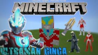 ULTRAMAN GINGA DI MINECRAFT Addon Minecraft Ultraman Ginga