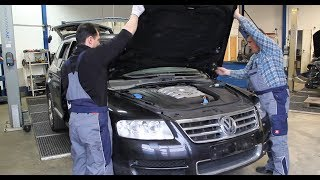 Розбирання VW Touareg 5.0 V10 TDI www.klassencarparts.com