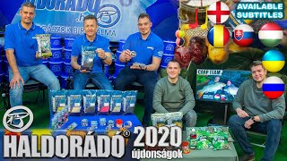 Haldorádó new products 2020