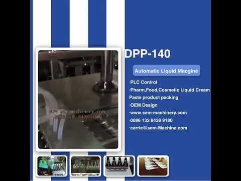 Liquid packing machine for Oliva oil perfume