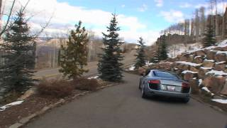 Audi r8 v8 Test Drive in Vail Colorado - Audi Driving Experience - luxury cars, fast...