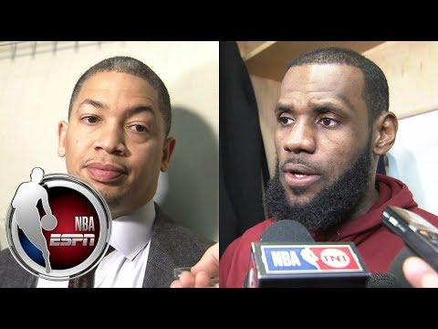 Tyronn Lue and LeBron James on Cavaliers' accountability, agendas and playing in a 'funk' | ESPN