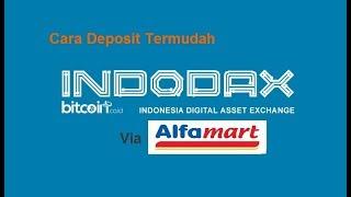 Cara Termudah Deposit Rupiah di Indodax (Bitcoin Indonesia)