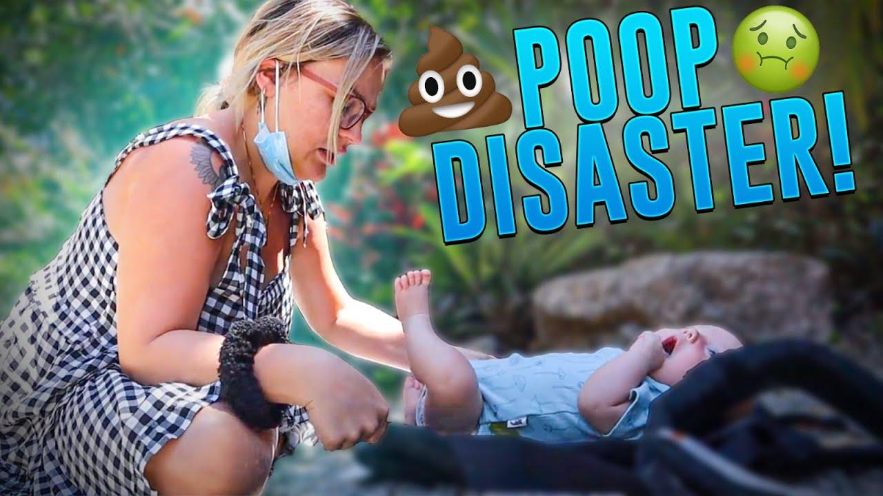Huge Poop Disaster IN PUBLIC! 😫
