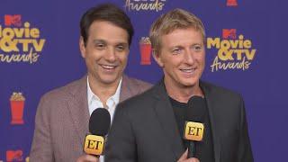 Ralph Macchio and William Zabka TEASE 'Cobra Kai' Guest Stars (Exclusive)