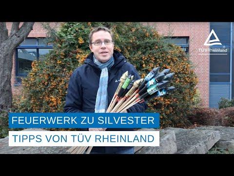 TÜV Rheinland: Sicherer Umgang mit Feuerwerkskörpern / Unfälle an Silvester / Feuerwerk nur aus sicheren Quellen beziehen / Beim Kauf von Feuerwerkskörpern auf CE-Zeichen und Registriernummer achten