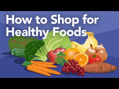 How to Shop for Healthy Foods