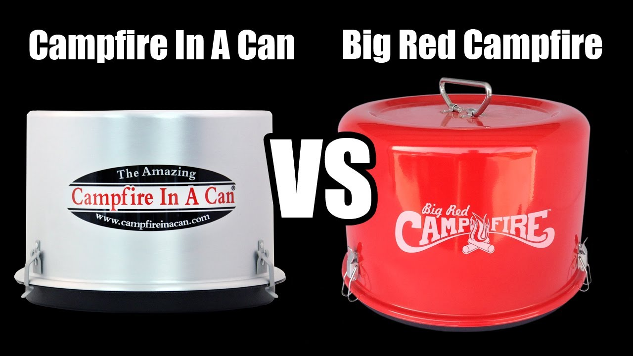 Campfire In A Can Vs Big Red Campfire Youtube