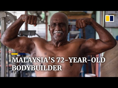 Malaysia's 72-year-old bodybuilder proves age is just a number
