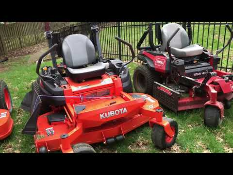 Kubota and Toro Comparison | Vlog #4