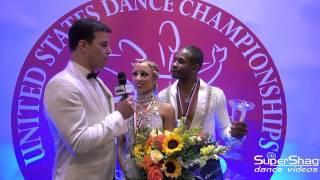2015 USDC - US National Pro Rhythm Champions Emmanuel Pierre Antoine & Liana Chirulova
