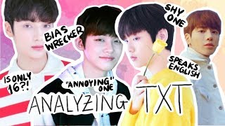 ANALYZING TXT's PERSONALITIES - (BigHit's new boyband)