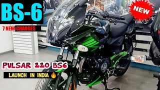 Finally Bajaj Pulsar 220F BS-6 Launched in India??  Price, Features, Mileage, ABS   PR Moto Vlogs