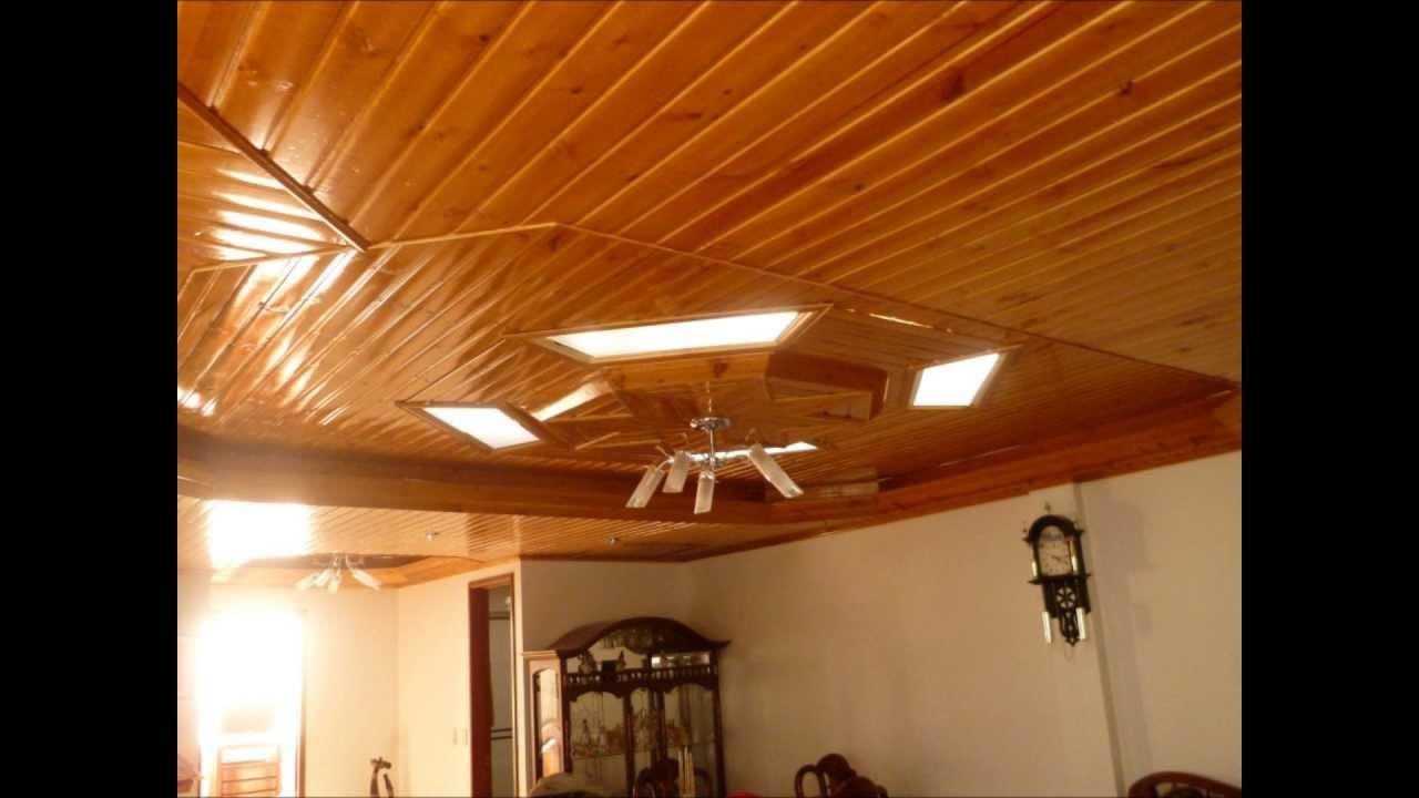 Cielorrazos en madera youtube - Techos falsos de madera ...