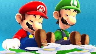 Super Mario Galaxy - Mario and Luigi Walkthrough Part 1