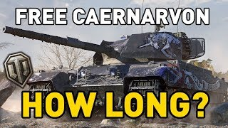 CAERNARVON AX FOR 'FREE'... HOW LONG WILL IT TAKE?