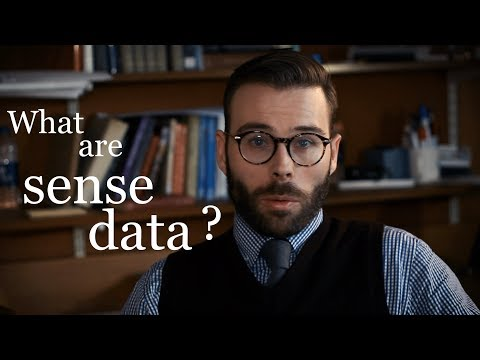 What on earth are sense data?